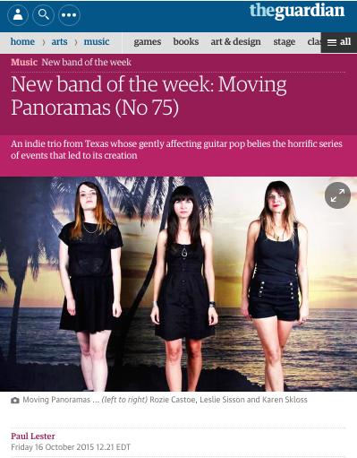 MOVING PANORAMAS